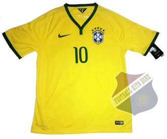 Brazil Home 2014-15 | #10 NEYMAR