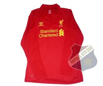 Liverpool Home 2013-14 Long Sleeve | #7 SUAREZ