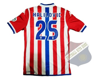 Sporting Gijon Home 2015-16 | #25 HALILOVIC